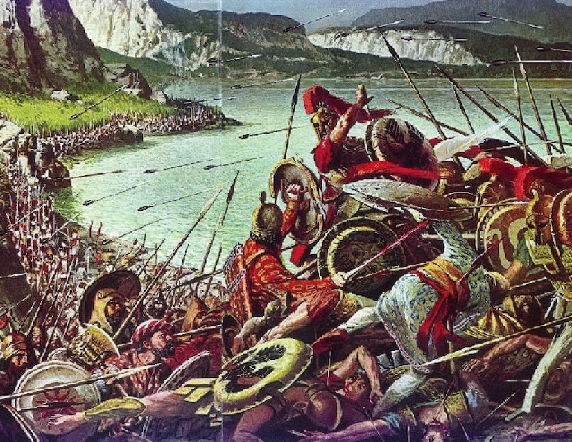 The Battle of Thermopylae was fought between an alliance of Greek city-states, led by King Leonidas of Sparta, and the Persian Achaemenid Empire over the course of three days, during the second Persian invasion of Greece. Leonidas was a master of what we now recognize as information warfare.