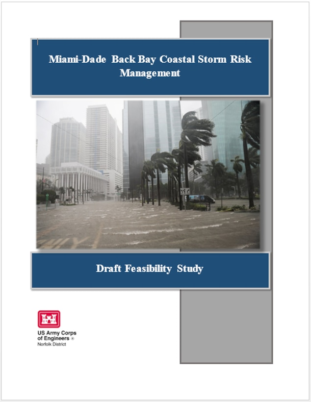 Cover of Miami-Dade Back Bay Coastal Storm Risk Management Draft Feasibility Study