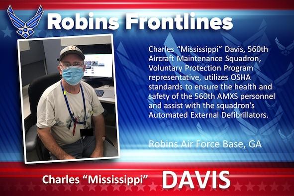 "Robins Frontlines: Charles ""Mississippi"" Davis"