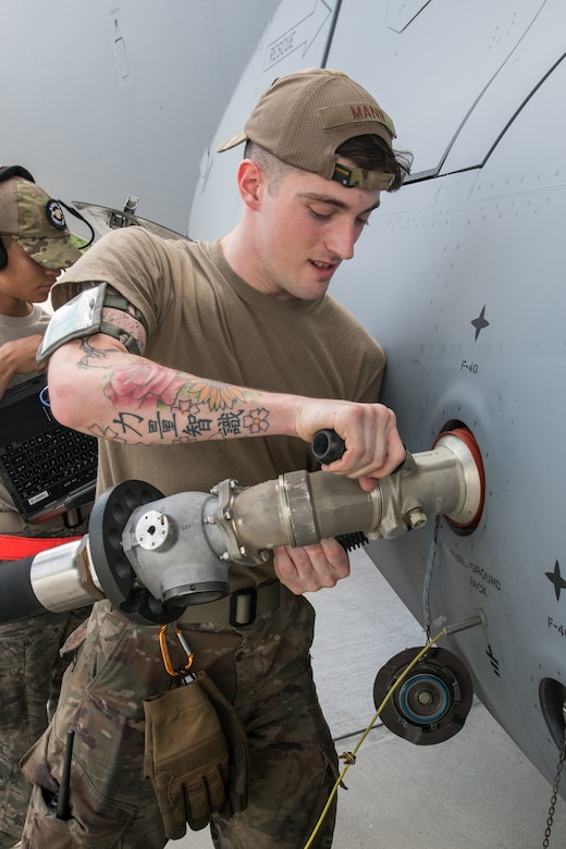 Senior Airman William Mann, 736th Aircraft 