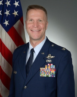 Col. Matthew M. Fritz, Commander of the 419th Fighter Wing