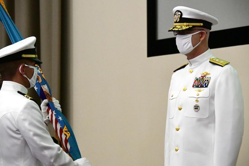 Leadership changes via virtual ceremony at DLA Distribution San Diego