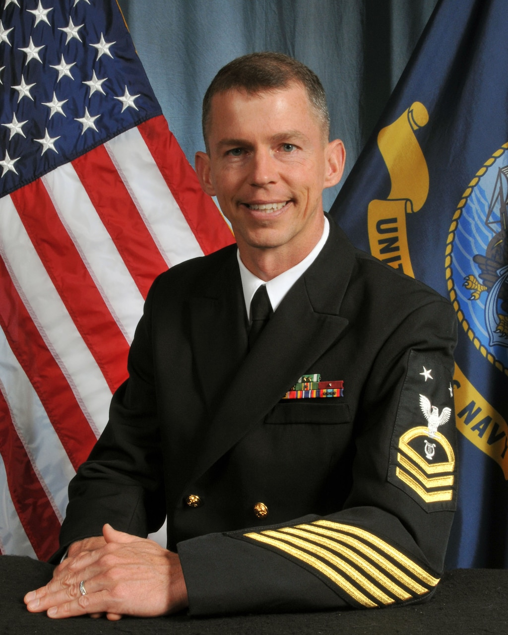 Master Chief Musician Todd W. Smeltzer, USFF Band Senior Enlisted Leader