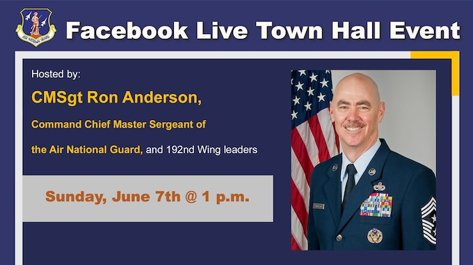 Facebook live town hall