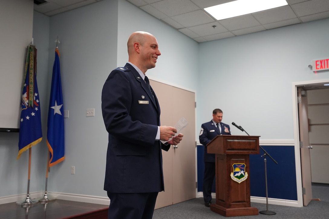 142nd Wing Change of Command