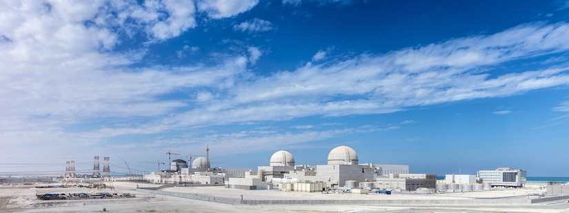 The UAE's Barakah Nuclear Energy Plant. (Photo courtesy of Emirates Nuclear Energy Corporation)