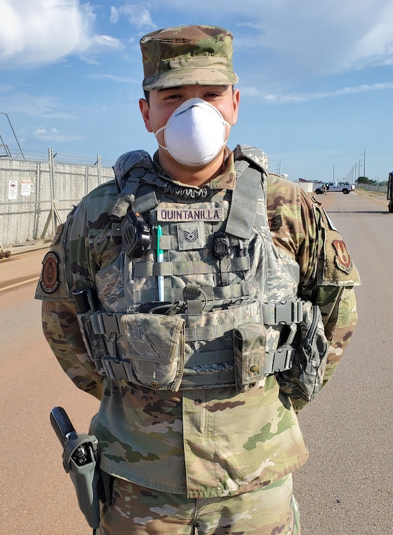 Tech. Sgt. Jerry Quintanilla with the 72nd Security Forces Squadron calls Houston, Texas, his hometown.