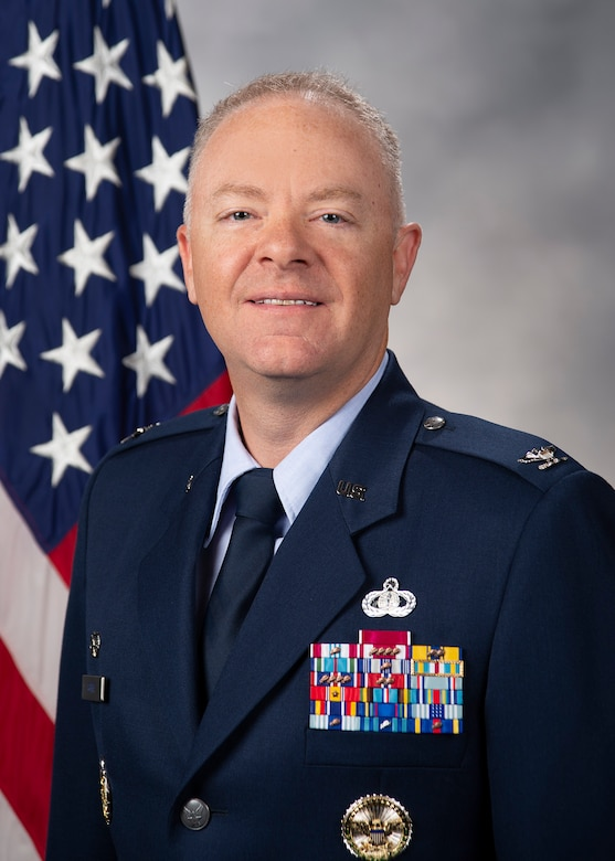 Colonel Tyler R. Schaff is the commander of the 316th Wing and installation commander for Joint Base Andrews-Naval Air Facility Washington, Maryland.