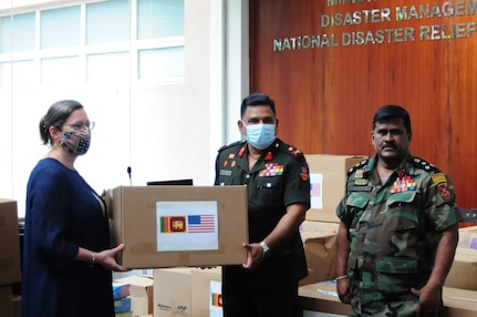 United States Donates Equipment for Sri Lanka's Frontline Responders to COVID-19