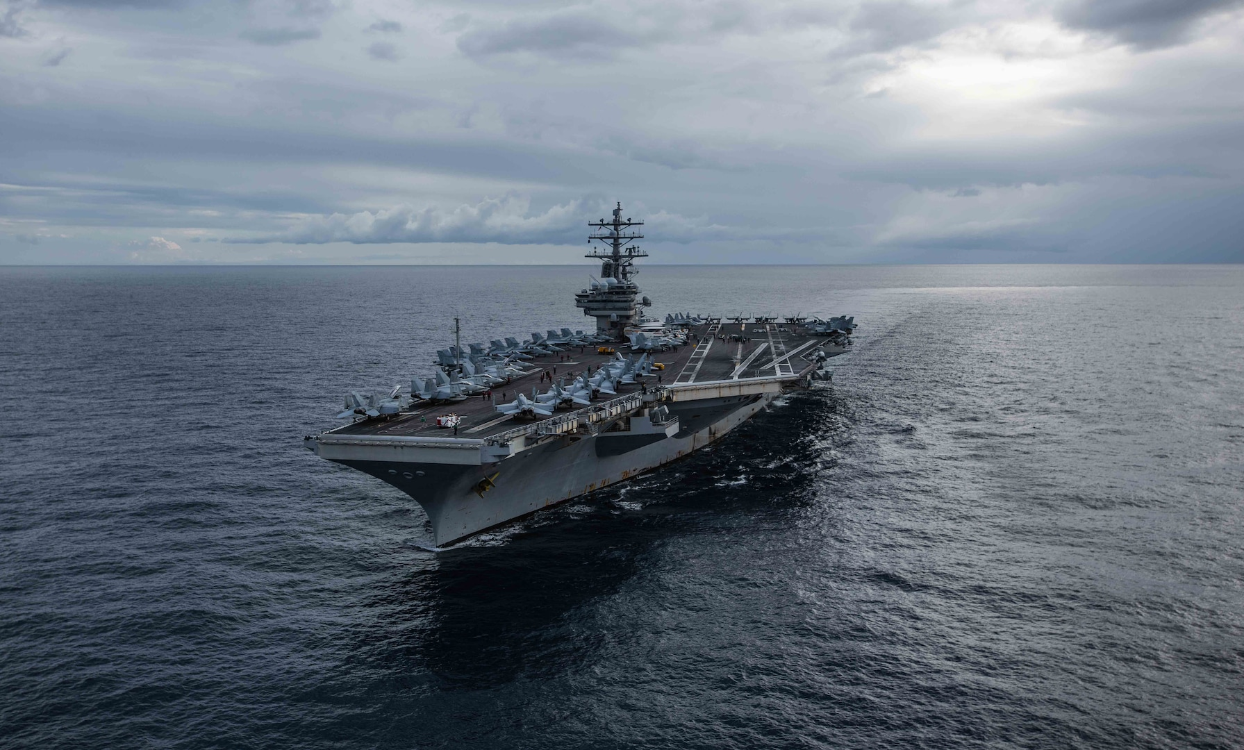 USS Ronald Reagan Carrier Strike Group Departs for 2020 Deployment