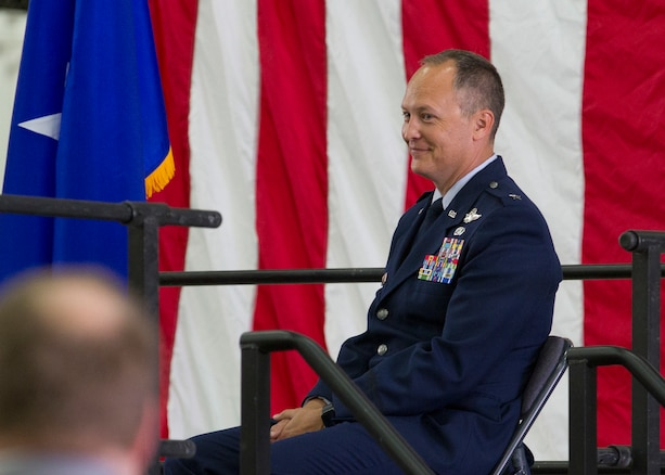 Col. Daniel Boyack, commander Utah Air National Guard, promotes to the rank of Brigadier General