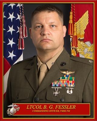 Commanding Officer, Marine Medium Tiltrotor Squadron 764