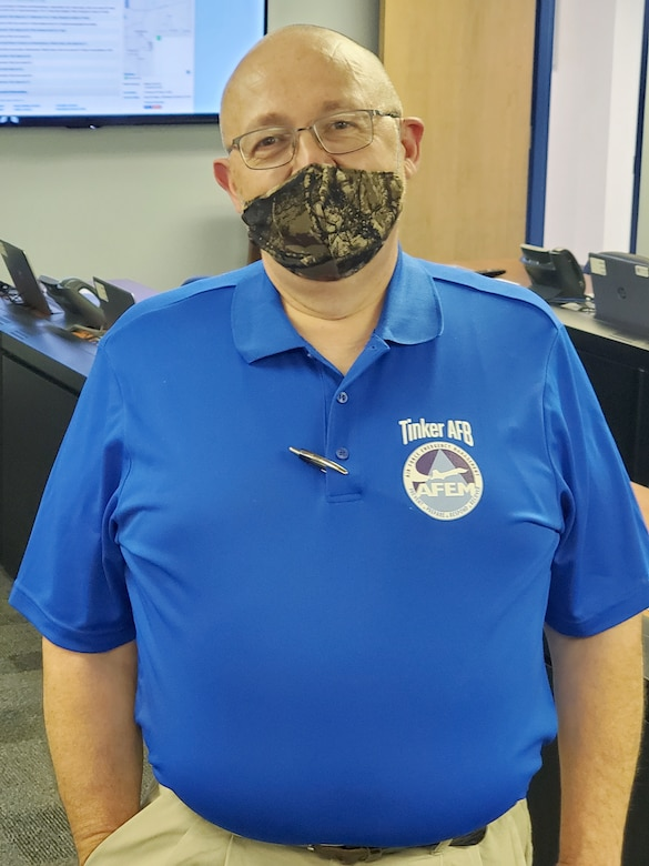 Doug Bell has worked as an Emergency Management Specialist for six months in the 72nd Civil Engineering Directorate Emergency Operations Center.