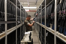 The armory mission is to service, maintain, issue, and recover all Depot ordnance assets and associated equipment as well as provide direct support to all live-fire ranges.