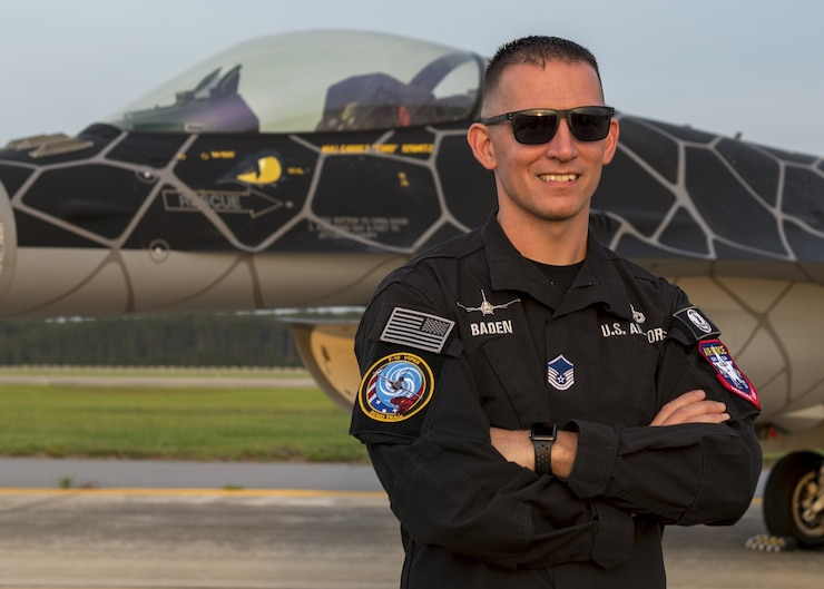 A photo of the 2020 Viper Demo Team superintendent.
