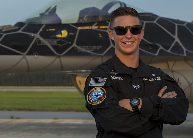 A photo of the 2020 Viper Demo Team dedicated crew chief.