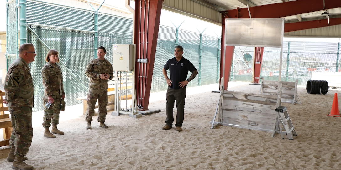 K9 Facility at Camp Arifjan, Kuwait