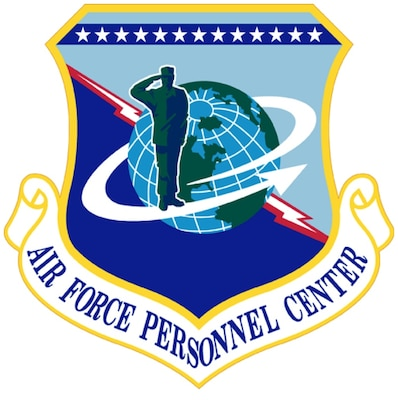 Air Force Personnel Center logo