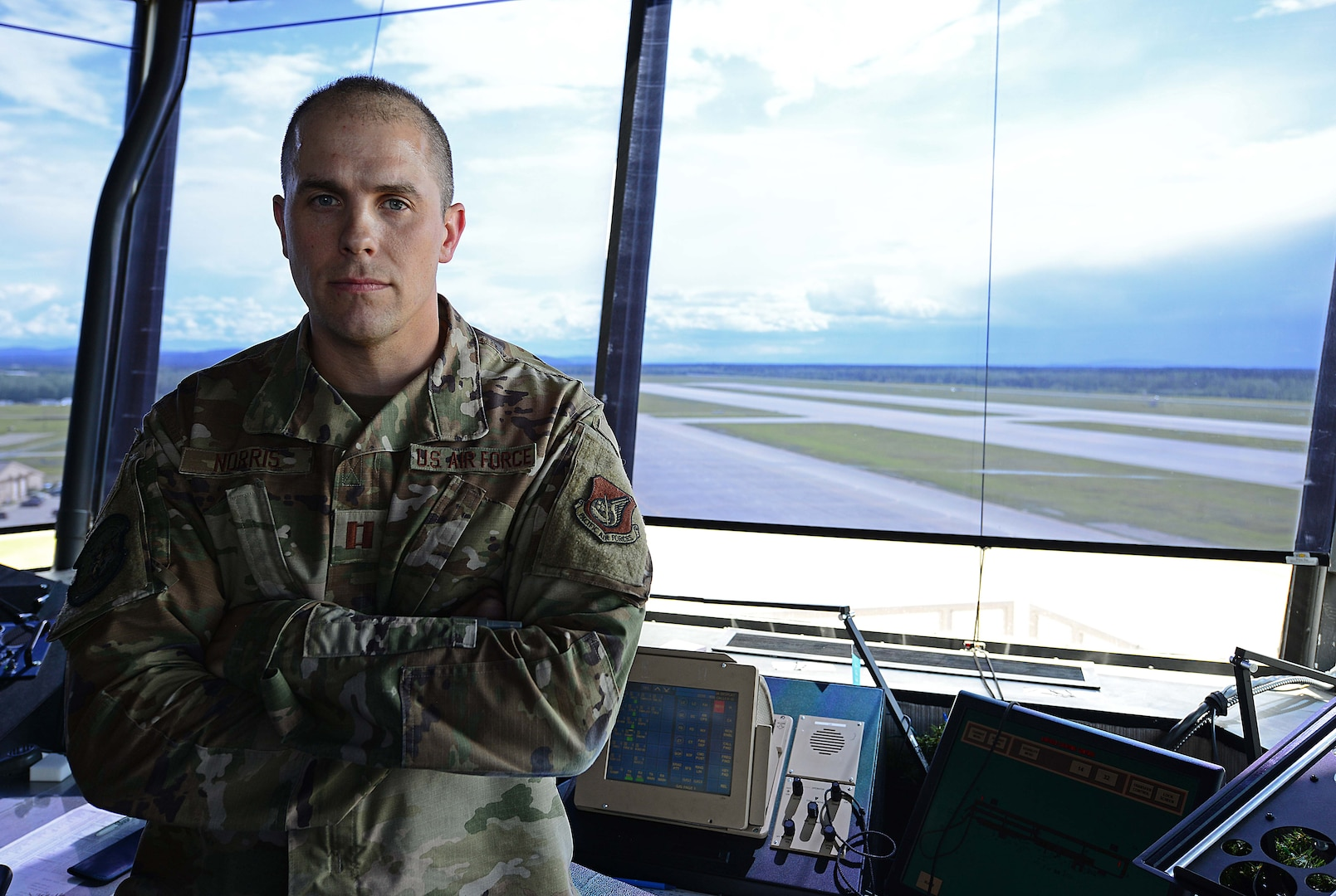 Climbing the tower of success; Operations Support Squadron Officer Wins Distinguished Award