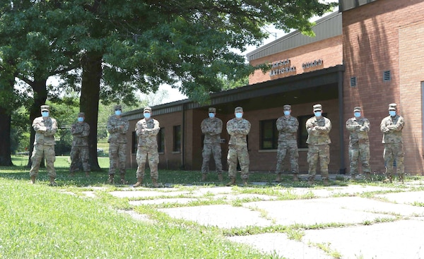 Kansas National Guard members saved a young woman from attempting suicide May 25, 2020, while driving back to Lawerence, Kansas. The Soldiers were mobilized to package and distribute food as part of the Kansas National Guard COVID-19 response.