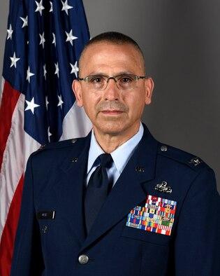 Col. Randall Ortiz, 180FW Vice Commander