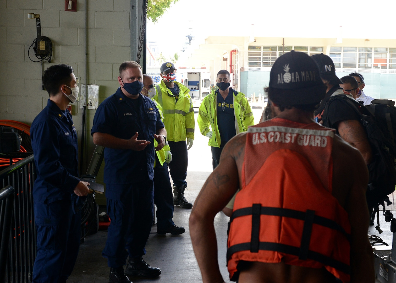 Coast Guard Rescues Mariners from Overdue Sailing Vessel off Hawaii
