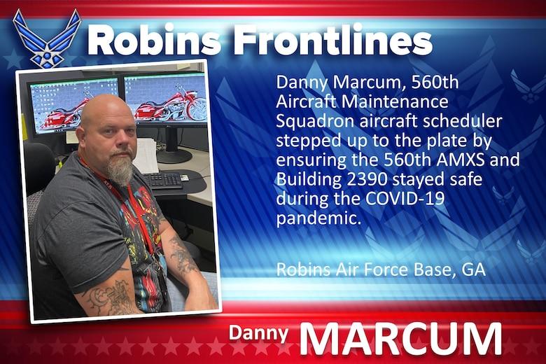 Robins Frontlines: Danny Marcum