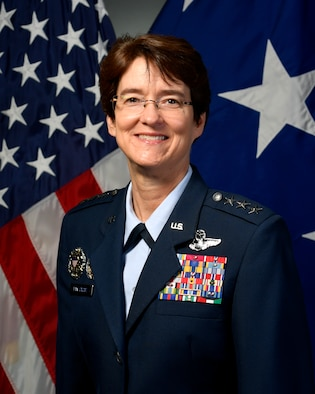 Lt. Gen. Jacqueline D. Van Ovost, Air Mobility Command deputy commander, has been nominated to serve as the next Air Mobility Command commander, June 5, 2020. (U.S. Air Force courtesy photo)