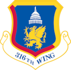 Emblem of the 316th Wing