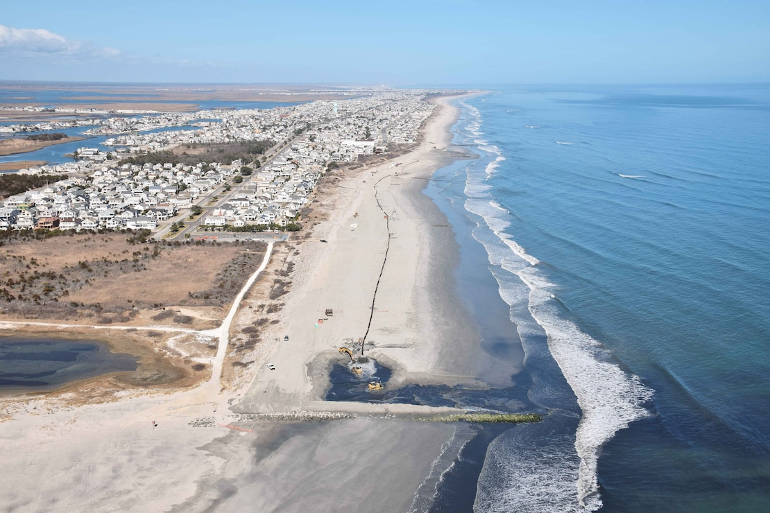 The Townsends Inlet to Cape May Inlet Coastal Storm Risk Management Project includes the construction of a dune and berm system in Avalon and Stone Harbor with a 3-year nourishment cycle (pending available funding).