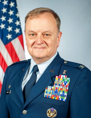 Official photo of Colonel Patrick D. Barger