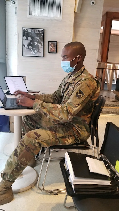 Army Historians document actionable history during COVID-19 operations