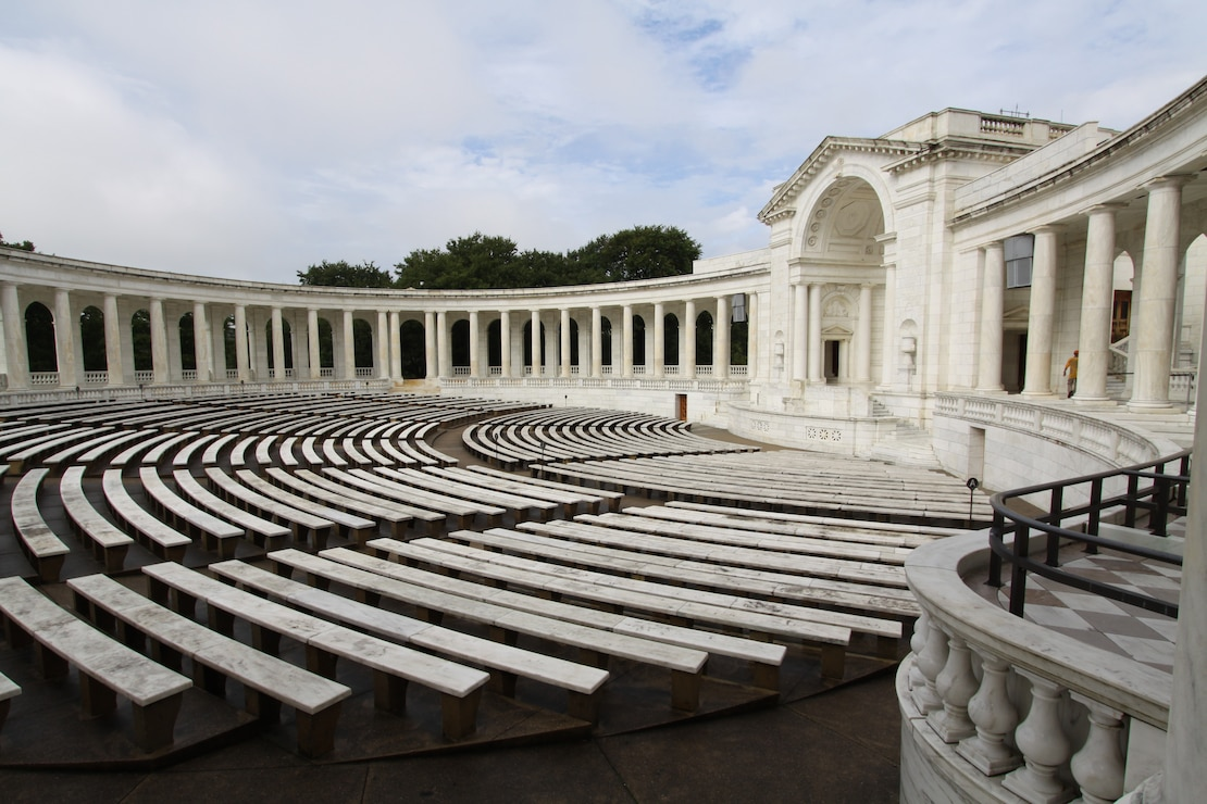 In preparation for the 100th anniversary of the dedication of the Tomb of the Unknown Soldier, 11 November 2021, The Norfolk District, U.S. Army Corps of Engineers has awarded a more than $6.3 million contract to clean, repoint, and provide universal access to the exterior of Arlington National Cemetery (ANC) Memorial Amphitheater.