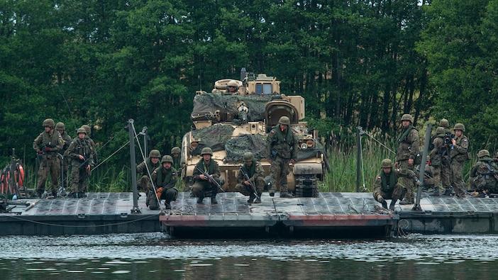 DEFENDER-Europe 20 & Allied Spirit: 3rd Infantry Division river crossing