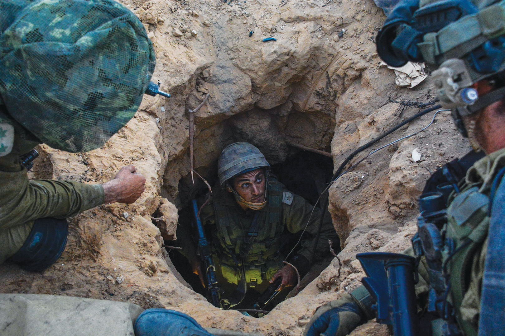 The IDF's paratroopers brigade operate within the Gaza Strip to find and disable Hamas' network terror tunnels and eliminate their threat to Israeli civilians. (Israel Defense Forces, 20 July 2014)