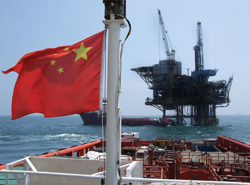 China has provoked its neighbors by deep-sea oil drilling in disupted waters. (Rob Ellis)