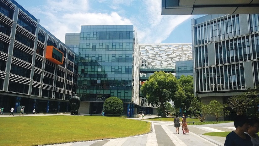 Headquarters for Alibaba Group in Hangzhou (Danielinblue, designed by HASSELL (architects))
