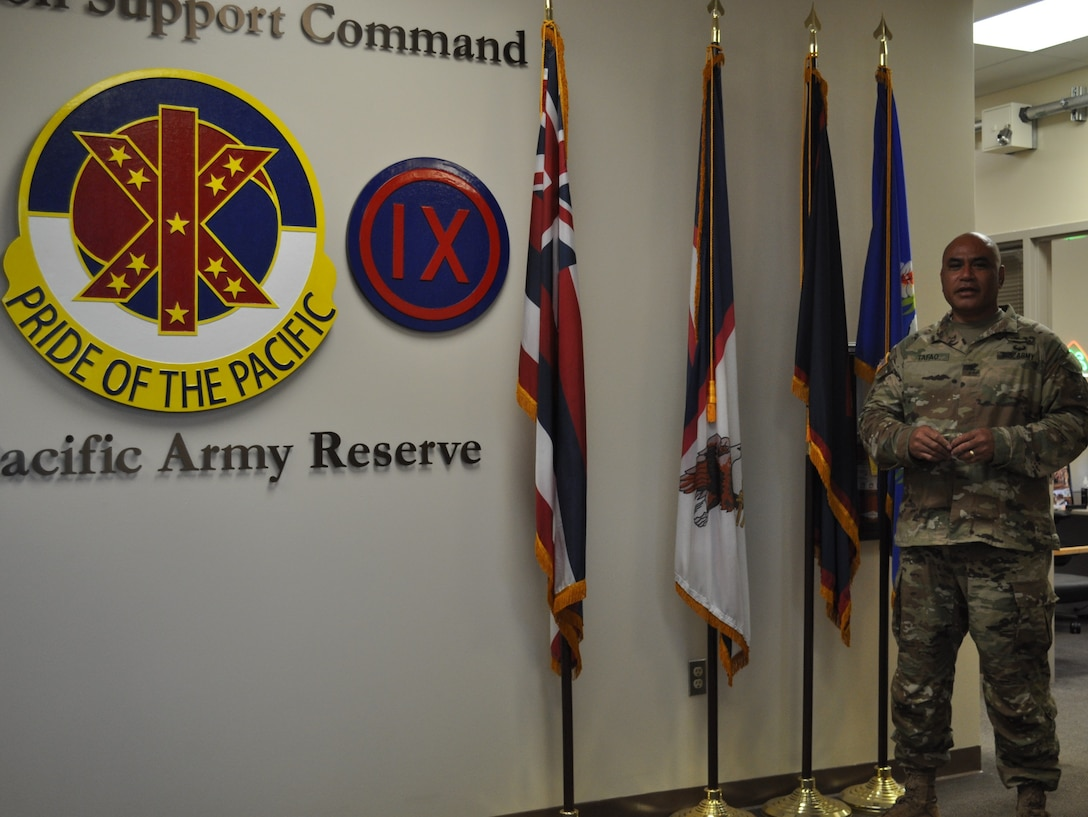 Getting to know new chief of staff of 9th Mission Support Command
