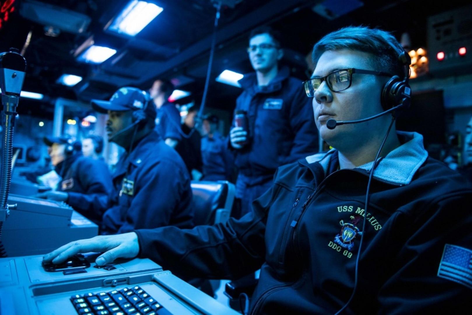 Milius Named Navy's Top Pacific Fleet Sub Hunter
