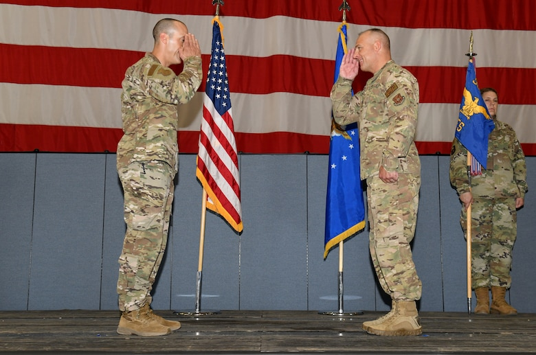 90 SFS welcomes new commander