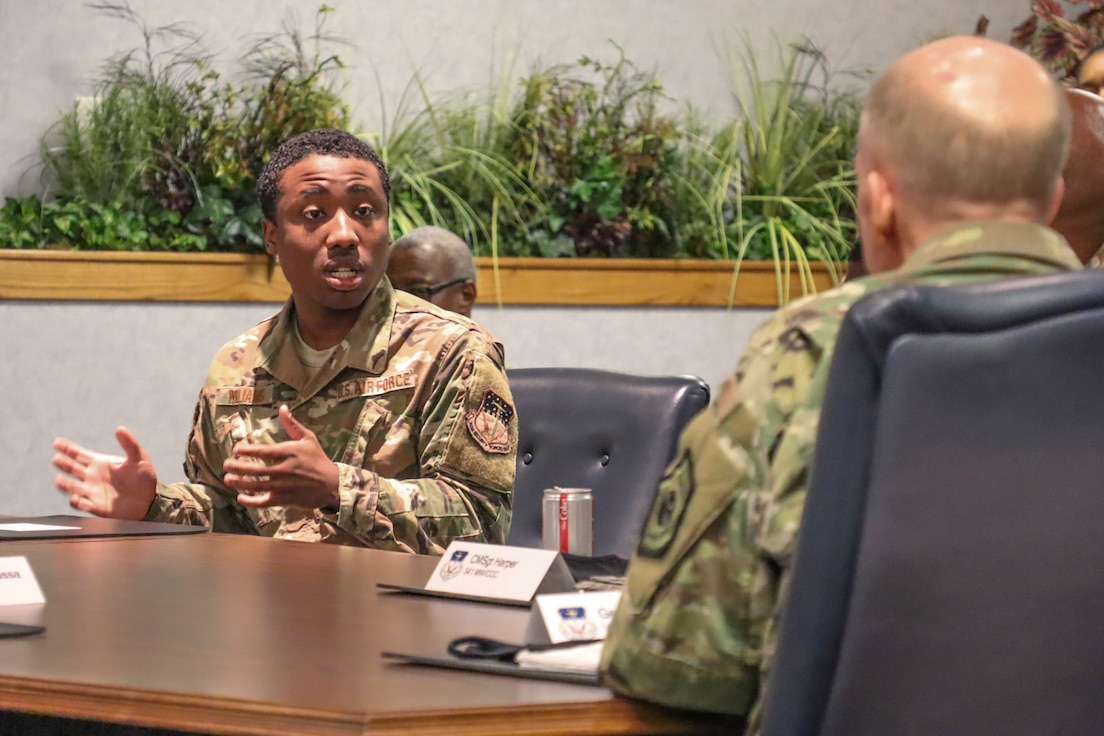 Senior Airman shares his experiences with racial inequality