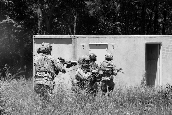 Joint Terminal Attack Controllers of the 148th Air Support Operations Squadron, participated in an annual field training exercise at Fort Indiantown Gap, June 13, 2020 in Annville, Pennsylvania.