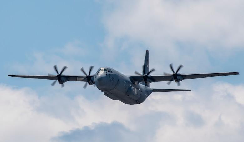 A C-130J Super Hercules