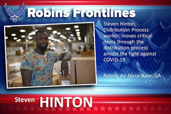Robins Fronelines: Steven Hinton