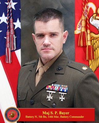 Commanding Officer, November Battery, 5th Battalion, 14th Marine Regiment