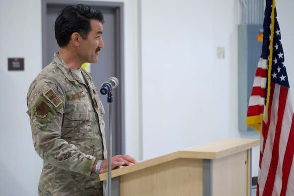 Col. Matthew Komatsu succeeds Col. Keolani Bailey as 176th Mission Support Group commander