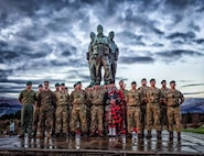 GySgt Maxwell, Personnel Exchange Program Marine with United Kingdom Royal Marines Mountain Leaders at Achnacarry, Scotland the birth place of United Kingdom Royal Marines Commandos.