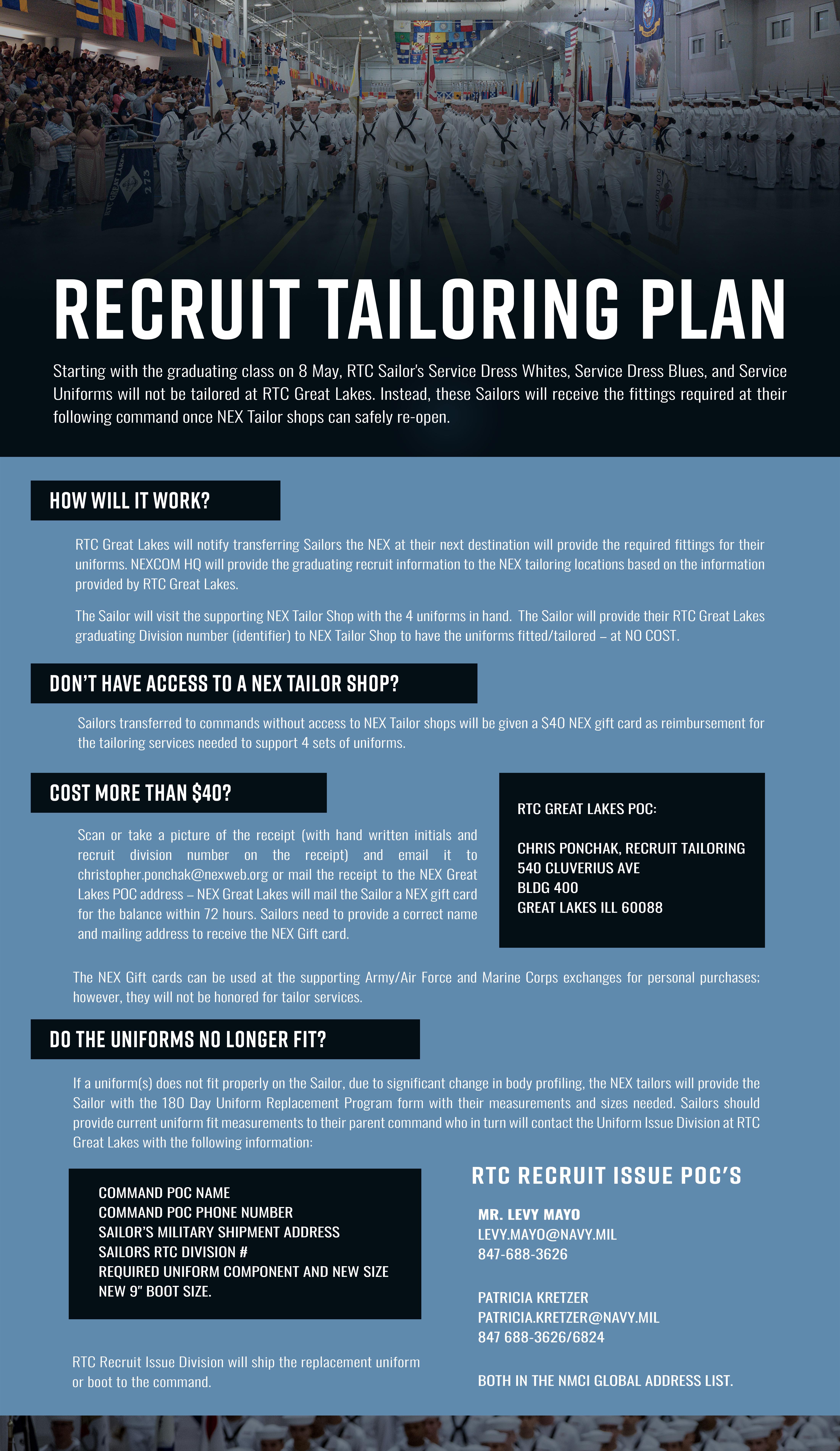 Recruit Tailoring Plan