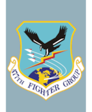 477th Fighter Group crest.