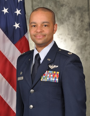 Lt. Col. Dameion Briggs, commander, Detachment 1, 605th Test and Evaluation Squadron, Tinker Air Force Base, Oklahoma